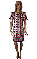Летнее цветное платье Birlik №2551, фото 1