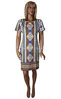 Летнее цветное платье Birlik №2589, фото 1