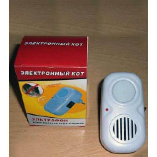 Отпугиватель крыс и мышей Электронный кот Ультразвуковой Ультрафон