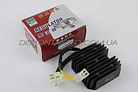Реле регулятор зарядки 4T GY6 125/150 4T китайский скутер (152QMI / 157QMJ) (5 проводов 3+2) JIANXING