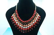 Модные массивные яркие колье и ожерелья в египетском стиле оптом