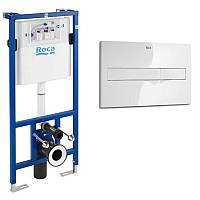 Комплект ROCA: PRO инсталяция для унитаза, PRO кнопка A89009000K+A890096001