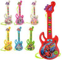Музыкальная игрушка Гитара с мультгероями (3939-29)