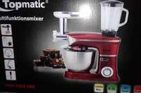 Кухонный комбайн 3в1 Topmatic PKM-1900BG 1900 Вт