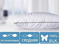 """Подушка шелковая """"Royal Pearl"""" №0517 СРЕДНЯЯ"""