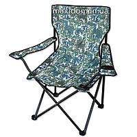 Туристичне розкладне крісло «Похідне», камуфляж