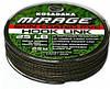 Материал Kosadaka Mirage поводковый в оболочке 25lb,хаки-черный,25м