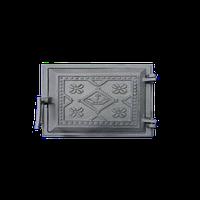 Дверцы чугунные топочные Вышиванка 265*250 ТМ Булат