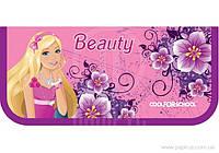 "Пенал пластиковый на молнии  А6 ""Beauty"" CF32004-03"