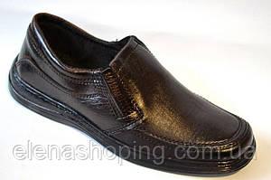 Туфли мужские коричневые повседневные  р 40