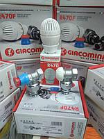 Комплект кранов R470FX003 термостатические (угловые) Джакомини