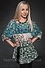 Шифоновая блуза оптом и в розницу, женская блуза шифон принт
