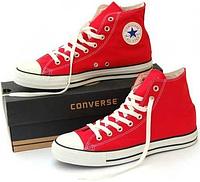 Кеды Converse Chuck Taylor All Star высокие Red