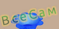 """Силиконовая форма для выпечки """"Кекс цветок"""" 10шт"""