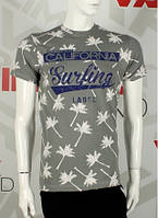 Мужская футболка р-ры (М-XXL) CALIFORNIA
