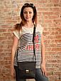 Классическая женская кожаная сумка Babak 886076, фото 2