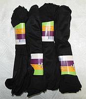 Носки женские капроновые Зувэй черные 10 пар  пучок