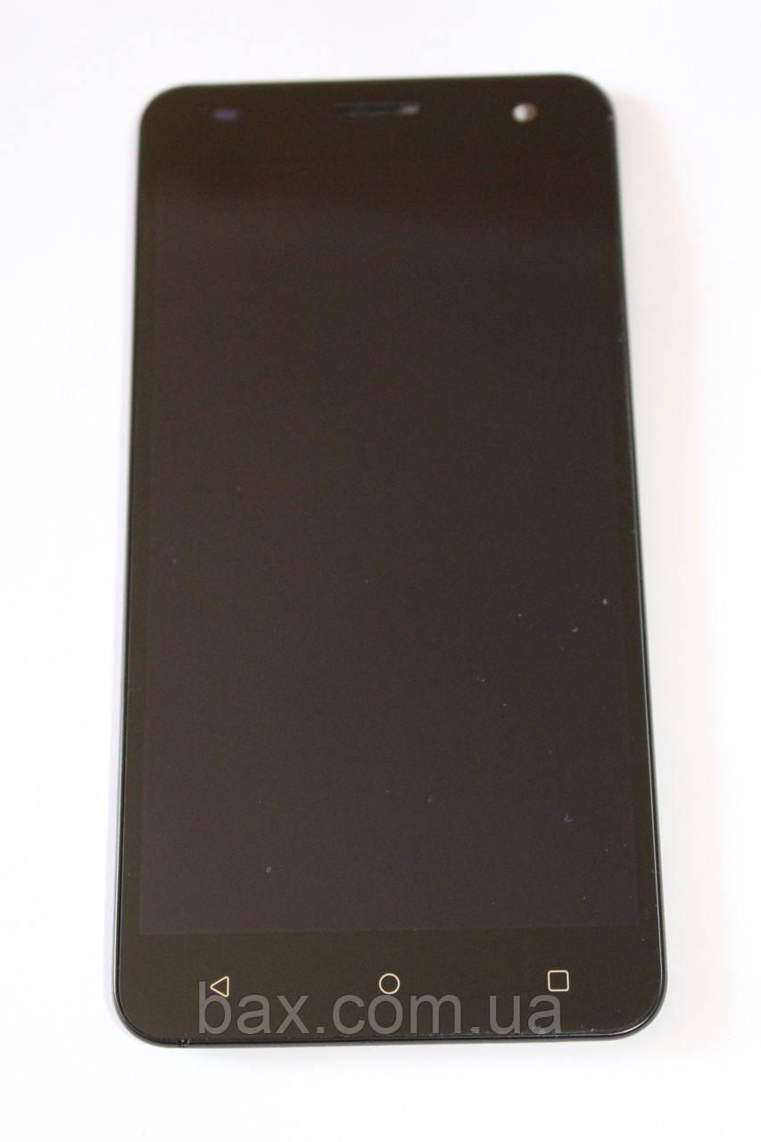 Fly FS504 модуль с рамкой (ориг.) черный