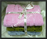 Бамбуковые полотенца Merzuka 70*140 Турция