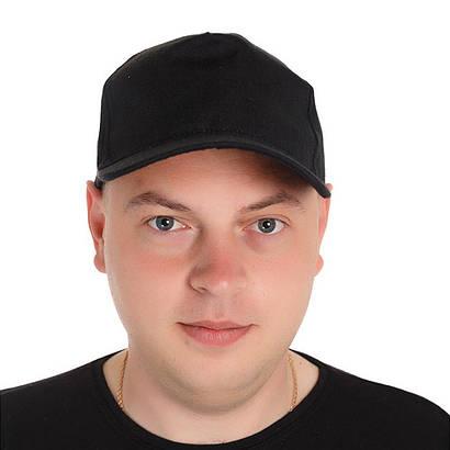 Кепка мужская черная