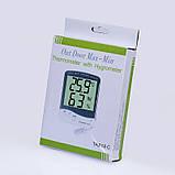 Термогигрометр KTJ Thermo TA218C (0°C ~ 50°C; 10% ~ 98%) с выносным датчиком температуры и влажности, фото 6