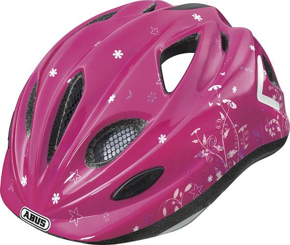 Велошлем  ABUS SUPER CHILLY Garden Pink  (М)