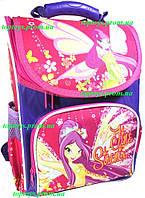 Рюкзак каркасный ортопедический школьный для девочки Феи (Fairies) Winx Винкс