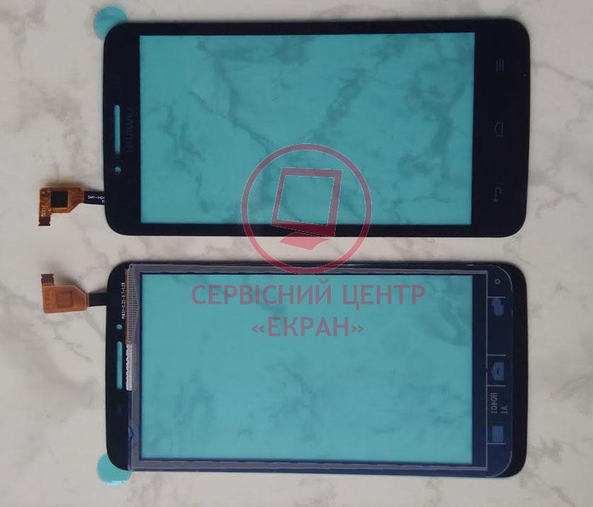 Huawei Ascend Y511-U30 сенсорний екран, тачскрін чорний
