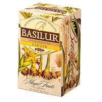Чай черный Basilur Волшебные фрукты Имбирь пакетированный 20х2г