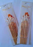 Кисточка для рисования 6шт Walid Royal-Art Brushes RA-716