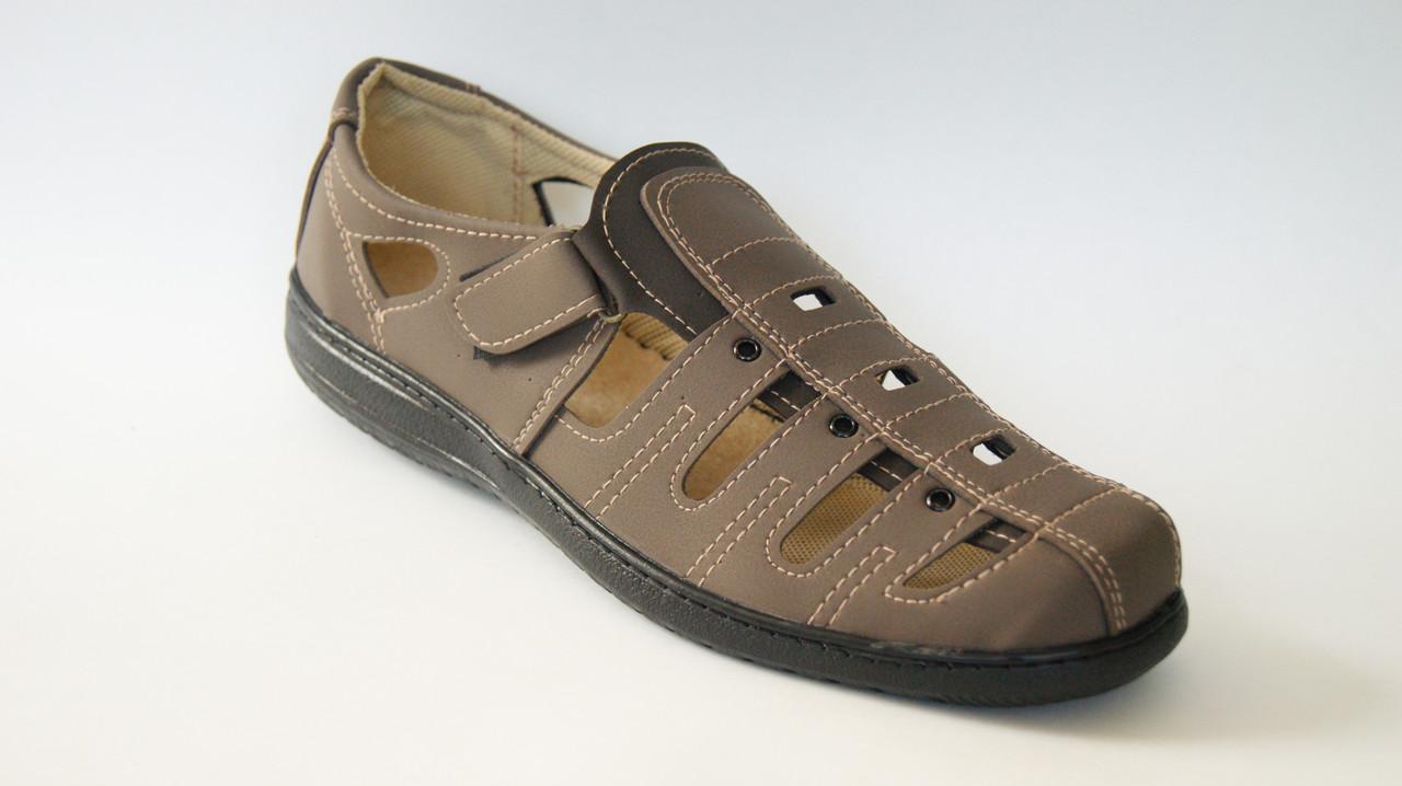 Мужские сандалии нубук