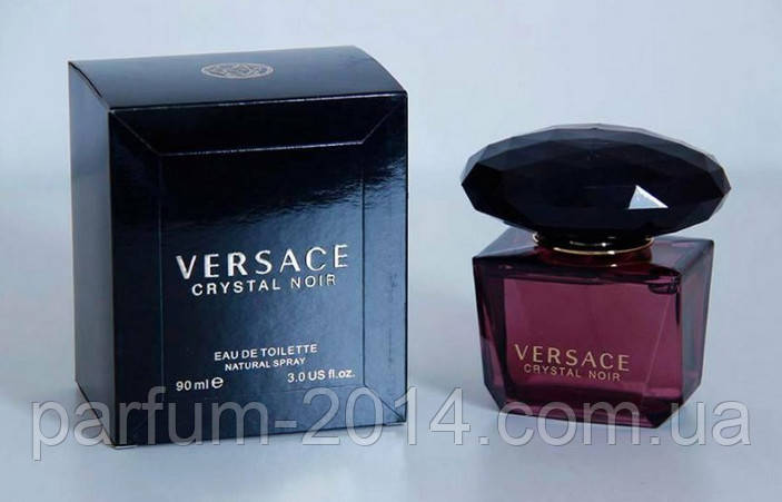 Женская туалетная вода Versace Crystal Noir + 5 мл в подарок (реплика)