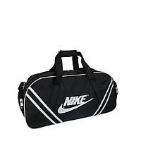 Сумка спортивная Nike средняя черная, фото 1