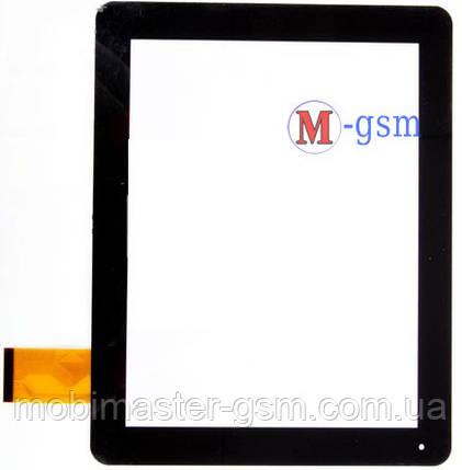 Тачскрин (сенсорный экран) CUBE U9GT2 (p/n:FPC-MT97002-V2/ MT97021) черный, фото 2