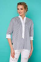 Женская блуза рубашка в стиле кэжуал