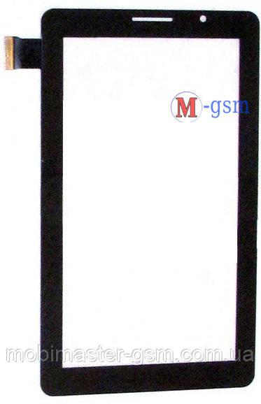 """Тачскрин (сенсорный экран) 7"""" JQ P1000, Rongshida W102, Bassoon p1000 (p/n: JGD-TP100) черный"""