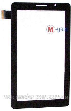 "Тачскрин (сенсорный экран) 7"" JQ P1000, Rongshida W102, Bassoon p1000 (p/n: JGD-TP100) черный, фото 2"