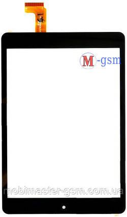 Тачскрин (сенсорный экран) Globex GU7814 (p/n: AD-C-800908-FPC) черный, фото 2