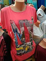 Модная футболка на женщин