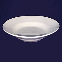 Тарелка белая суповая стеклокерамика 20 см. хорека SNT 13601