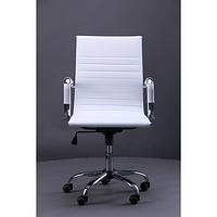 Кресло Slim LB (XH-632B) Белое (AMF-ТМ)
