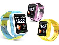 Детские умные часы телефон трекер Smart Baby Watch Q500s c сенсорным цветным экраном.