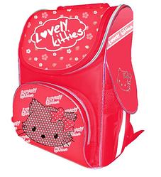 Ранец школьный Lovely Kitty, 2 отд.,34*25*13 см 13016450