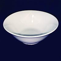 Салатник керамика 18 см 500мл Белый хорека SNT 13610