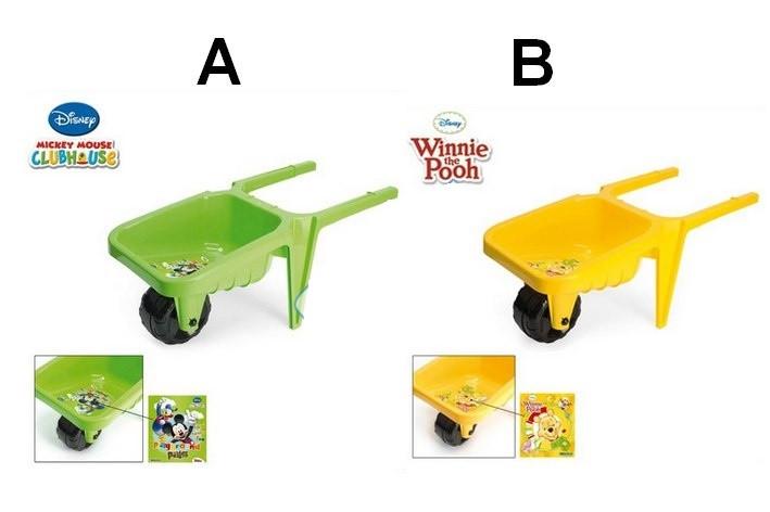 Тачка садовая Винни Пух или Микки Маус Disney 77180