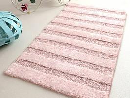 Коврик в ванную 60х100см Irya NOVA бледно розовый SV40
