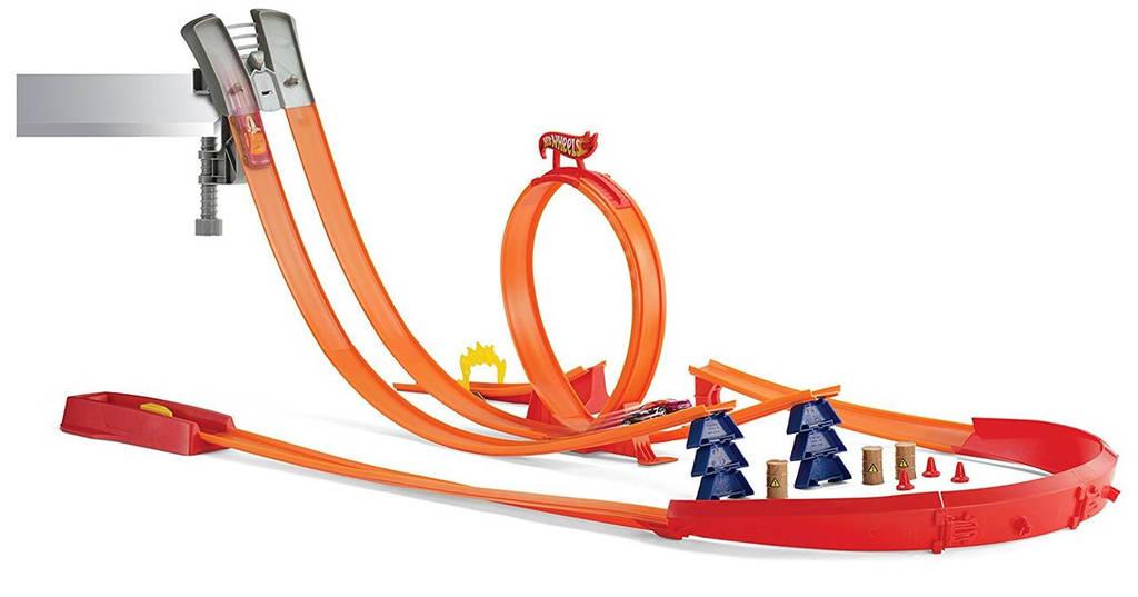 Игровой набор трек Хот Вилс Американские горки Hot Wheels Super Track Pack Playset with 2 Cars Y0276