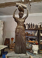 Скульптура в фонтан, экстерьер, интерьер.