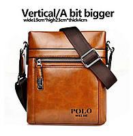 Мужские сумки Polo. Размер 22*19*4см