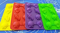 Силиконовые формы для льда и конфет Ракушки